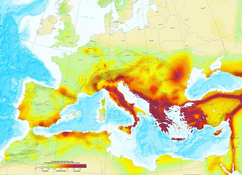 Erdbeben Deutschland Karte.Rainer Olzem De Themen Erdbeben Ursachen Und Vorhersage